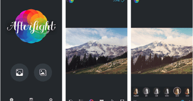 AFTERLIGHT PHOTO APP